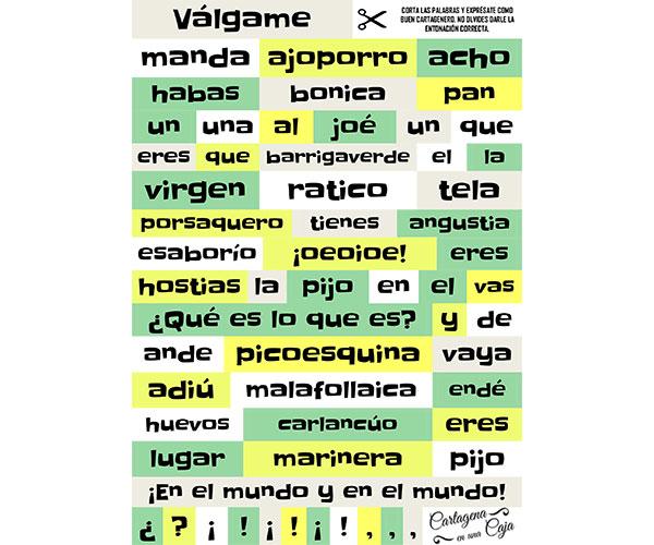 Iman palabras cartageneras