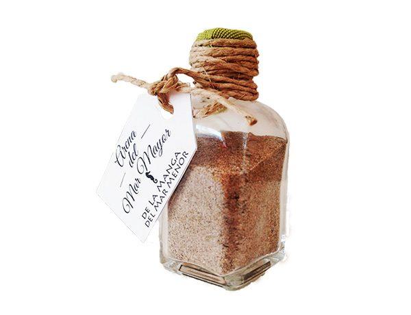 Botella de arena del Mar Mayor