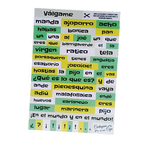 Imán frases cartageneras