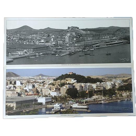 Láminas panorámicas Puerto de Cartagena