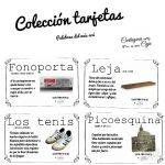 """Colección tarjetas """"Palabras del más Acá"""""""