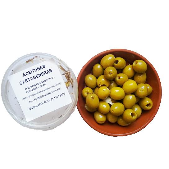 Aceitunas cartageneras