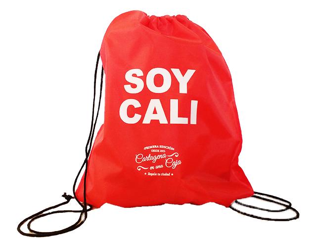 Mochila california Semana santa Cartagena en una Caja