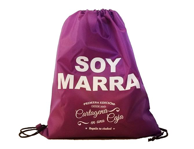 Mochila marraja Semana santa Cartagena en una Caja